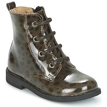 Zapatos Niña Botas de caña baja Citrouille et Compagnie HEMANU Negro / Marrón
