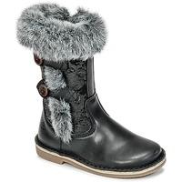 Zapatos Niña Botas urbanas Citrouille et Compagnie HOSY Negro