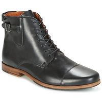 Zapatos Hombre Botas de caña baja Schmoove BLIND BRITISH BROGUE Negro