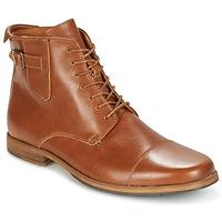 Zapatos Hombre Botas de caña baja Schmoove BLIND BRITISH BROGUE Camel