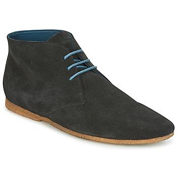 Zapatos Hombre Botas de caña baja Schmoove CREPS DESERT Negro