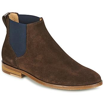 Zapatos Hombre Botas de caña baja Schmoove APOLLON CHELSEA Marrón