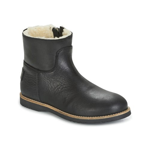 Shabbies LOW STITCHDOWN LINED Negro - Envío gratis | ! - Zapatos Botas de caña baja Nino