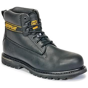 Zapatos Hombre Botas de caña baja Caterpillar HOLTON ST SB Negro