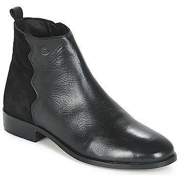 Zapatos Mujer Botas de caña baja Betty London HELOI Negro