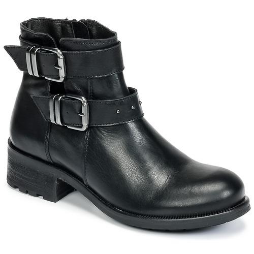 Zapatos Mujer Botas de caña baja Betty London HELIDI Negro