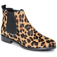Zapatos Mujer Botas de caña baja Betty London HUGUETTE Leopardo