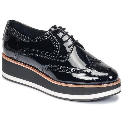 Betty London HENRIETTE Negro - Envío gratis | ! - Zapatos Derbie Mujer