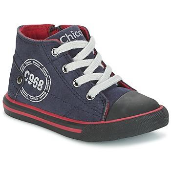 Zapatos Niño Zapatillas altas Chicco CRITTER Marino / Negro / Rojo