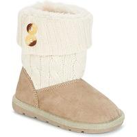 Zapatos Niña Botas de caña baja Chicco CHARME Beige / Marrón