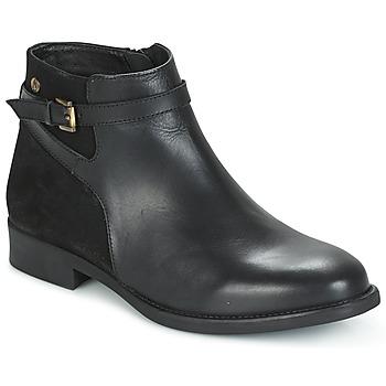 Zapatos Mujer Botas de caña baja Hush puppies CRISTY Negro