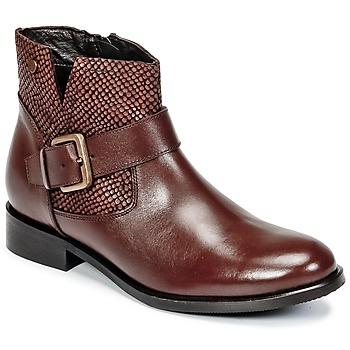 Zapatos Mujer Botas de caña baja Hush puppies DORAN Marrón
