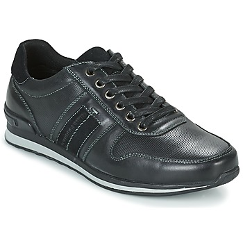 Zapatos Hombre Zapatillas bajas Hush puppies PISHUP Negro