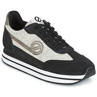 Zapatos Mujer Zapatillas bajas No Name EDEN JOGGER Negro / Gris
