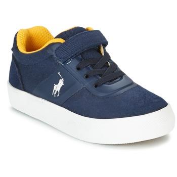 Zapatos Niños Zapatillas bajas Ralph Lauren HANFORD HM EZ Marino