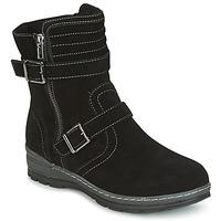 Zapatos Mujer Botas de caña baja Wildflower MYRNA Negro