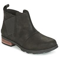 Zapatos Mujer Botas de nieve Sorel EMELIE CHELSEA Negro
