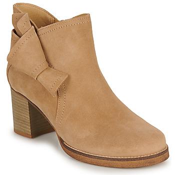 Zapatos Mujer Botines Casual Attitude HIRCHE Beige