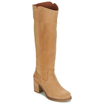 Zapatos Mujer Botas urbanas Casual Attitude HAPI Beige