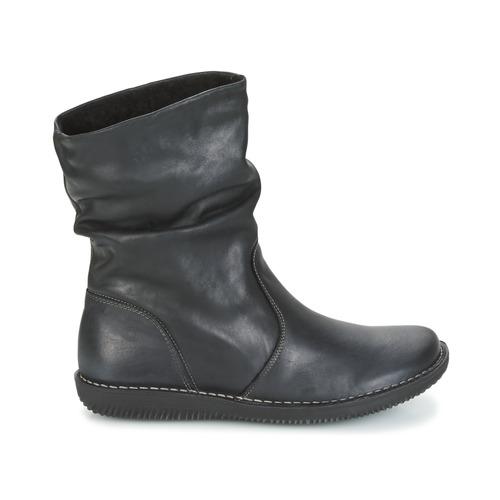 Mujer Caña De Botas Negro Attitude Baja Zapatos Fill Casual 54jA3qcRL
