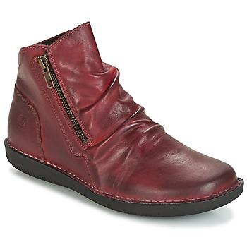 Zapatos Mujer Botas de caña baja Casual Attitude HERMINA Burdeo