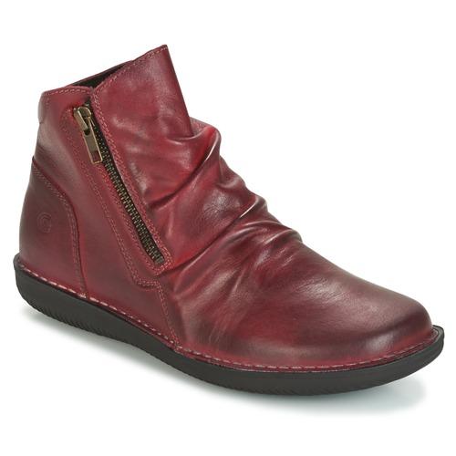 Los últimos zapatos de descuento para hombres y mujeres Casual Attitude HERMINA Burdeo - Envío gratis Nueva promoción - Zapatos Botas de caña baja Mujer