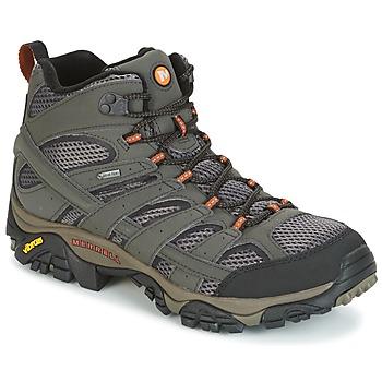 Zapatos Hombre Senderismo Merrell MOAB 2 MID GTX Gris