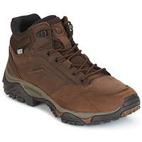 Zapatos Hombre Botas de caña baja Merrell MOAB VENTURE MID WTPF Marrón