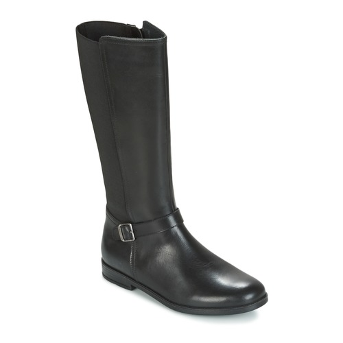 Zapatos Niña Botas urbanas Start Rite GRACE LONG Negro
