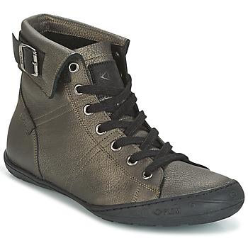 Zapatos Mujer Zapatillas altas PLDM by Palladium GLADYS DST Gris / Oro
