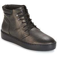 Zapatos Mujer Zapatillas altas PLDM by Palladium TRACK DST W Negro / Oro