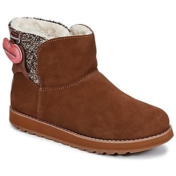 Zapatos Mujer Botas de caña baja Skechers KEEPSAKES Marrón