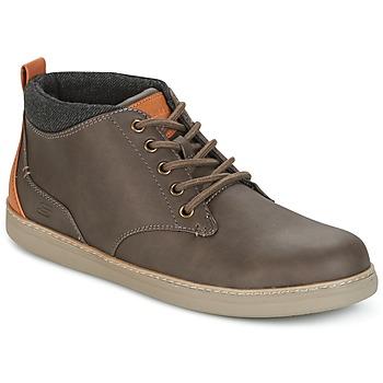 Zapatos Hombre Zapatillas altas Skechers MENS USA Marrón