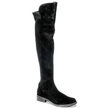 Zapatos Mujer Botas a la rodilla Buffalo NUPAN Negro