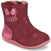 Zapatos Niña Botas de caña baja Kickers BRETZELLE Rosa