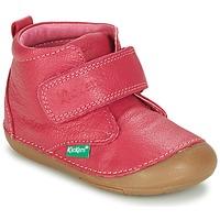 Zapatos Niña Botas de caña baja Kickers SABIO Fucsia