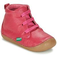 Zapatos Niña Botas de caña baja Kickers SONICE Fucsia