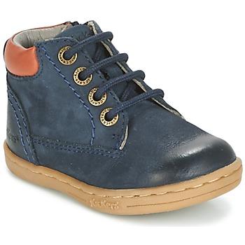 Zapatos Niño Botas de caña baja Kickers TACKLAND Marino