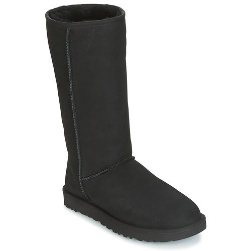 Zapatos Mujer Botas urbanas UGG CLASSIC TALL II Negro