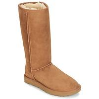 Zapatos Mujer Botas de caña baja UGG CLASSIC TALL II Marrón