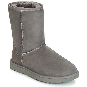 Zapatos Mujer Botas de caña baja UGG CLASSIC SHORT II Gris