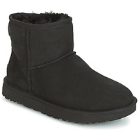 Zapatos Mujer Botas de caña baja UGG CLASSIC MINI II Negro