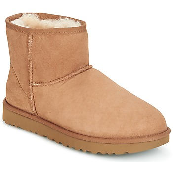 Zapatos Mujer Botas de caña baja UGG CLASSIC MINI II Camel
