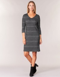 textil Mujer vestidos cortos Cream MIRA DRESS Negro