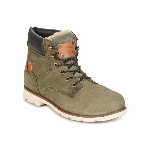 Dockers by Gerli POLAR Kaki - Envío Zapatos gratis Nueva promoción - Zapatos Envío Botas de caña baja Mujer 71,96 ac99de