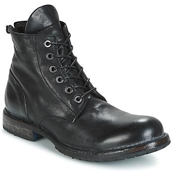 Zapatos Hombre Botas de caña baja Moma CUSNA NERO Negro