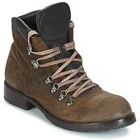 Zapatos Hombre Botas de caña baja Moma MARTENS CORDA/ COSNA TESTA DI MORO Kaki / Marrón