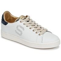 Zapatos Mujer Zapatillas bajas Serafini J.CONNORS Blanco / Azul / Dorado