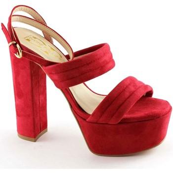Zapatos Mujer Sandalias Divine Follie DIV-E17-8857-RO Rosso