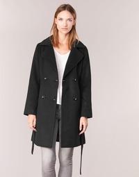 textil Mujer Abrigos Casual Attitude HALLOA Negro